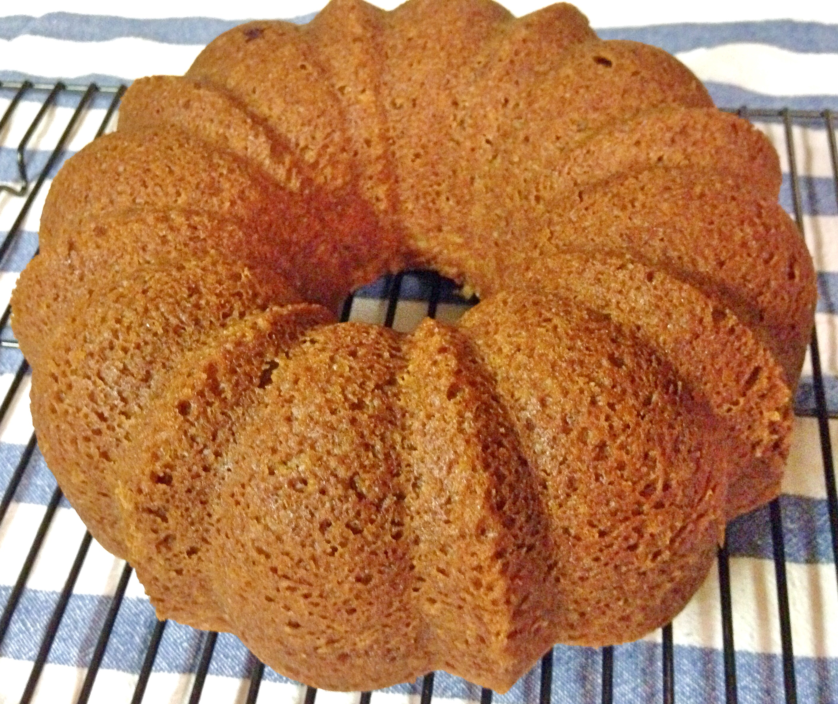 Homemade Applesauce Yogurt Bundt Cake