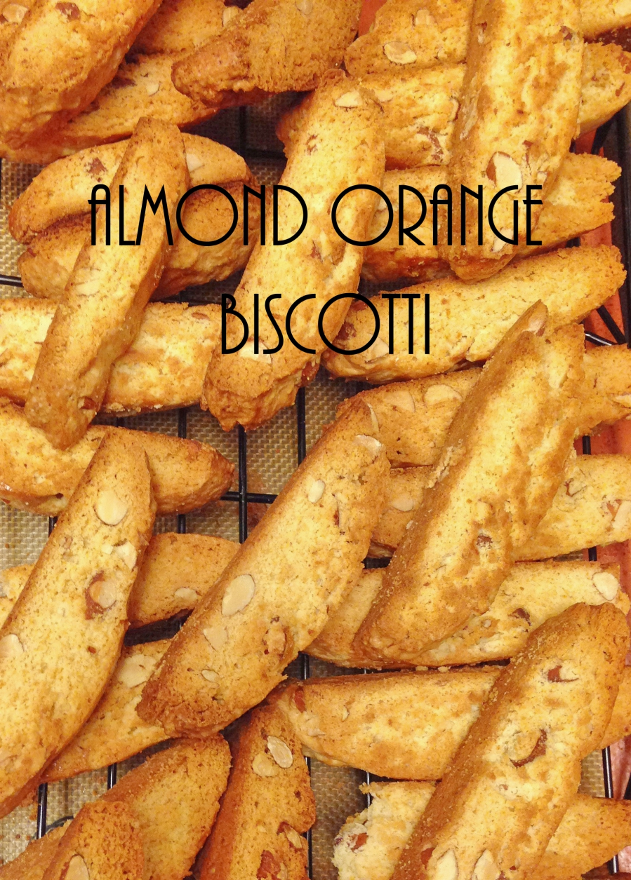 Almond Orange Biscotti – American version