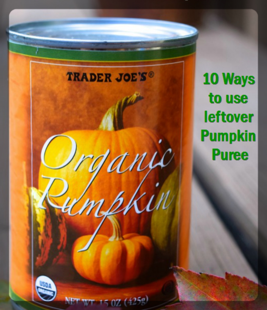 10 Ways to use up leftover Pumpkin Puree