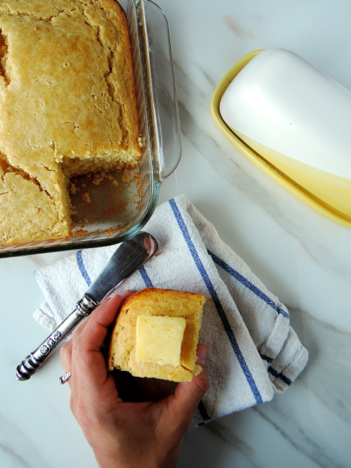 The Best Cornbread Recipe! {easy & from scratch}