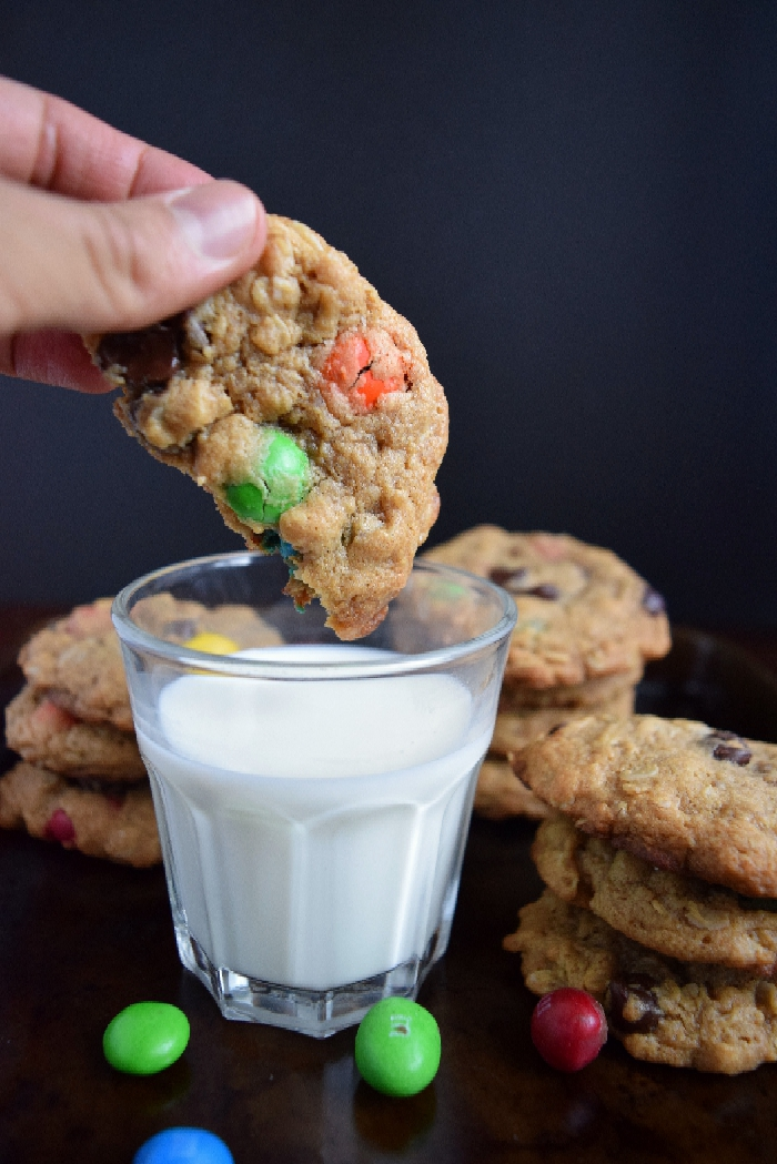 Classic Chewy Monster Cookies