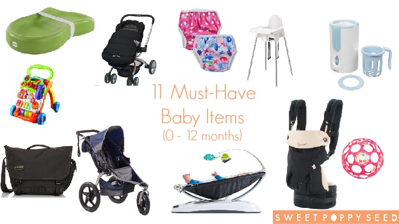 11 Must-Have Baby Items (0 – 12 months)