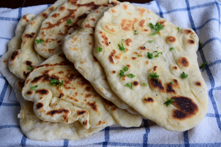 Naan Bread Homemade And Easy Sweet Poppy Seed
