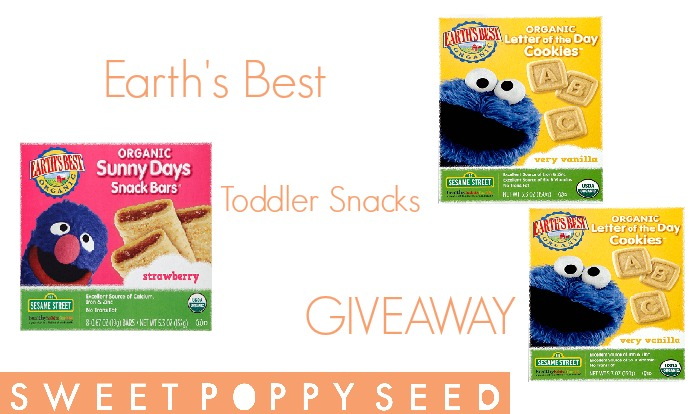 Currently loving – Earth's Best Toddler snacks