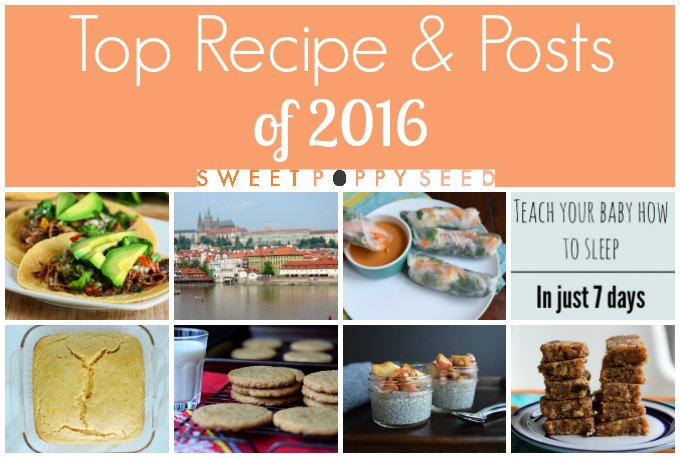 Top Recipes & Posts of 2016