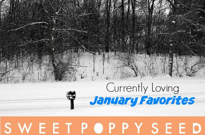 Currently Loving – January Favorites