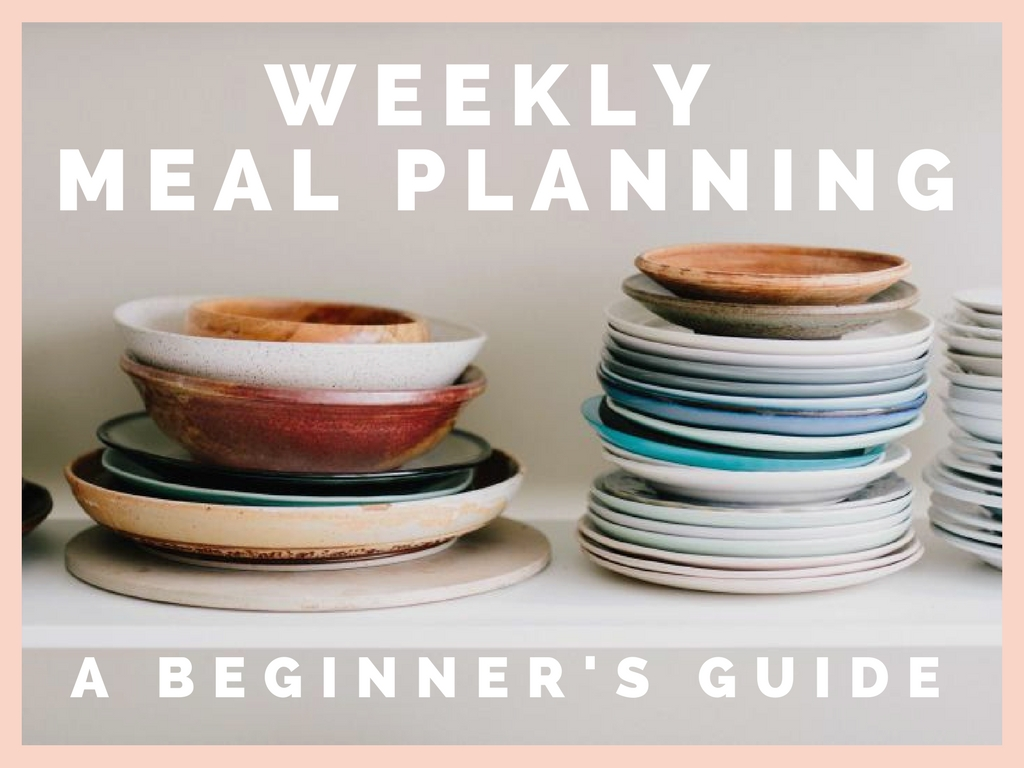 Weekly Meal Planning – A Beginner's Guide