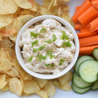 Caramelized Onion Dip #easy #homemade #8ingredients