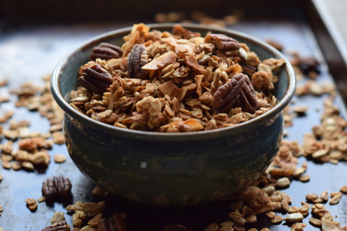 Summer Coconut Pecan Granola - Sweet Poppy Seed
