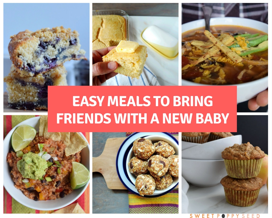 Easy Meals to Bring Friends with a New Baby