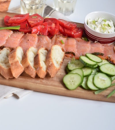 Smoked Salmon Platter (No cook meal)