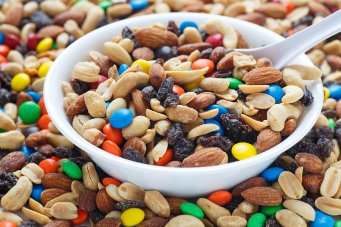 Calories In Trail Mix With Chocolate Chips